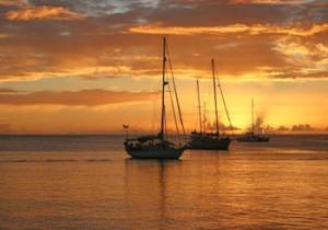 yachts-at-sunset